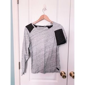 Calvin Klein Sweater w/ elbow and shoulder pads